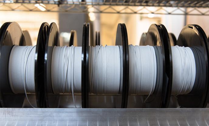 Filament white roll